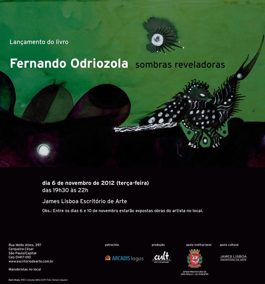 Fernando Odriozola | Sombras reveladoras| Livro dearte